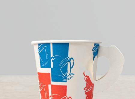 Hot cup handle
